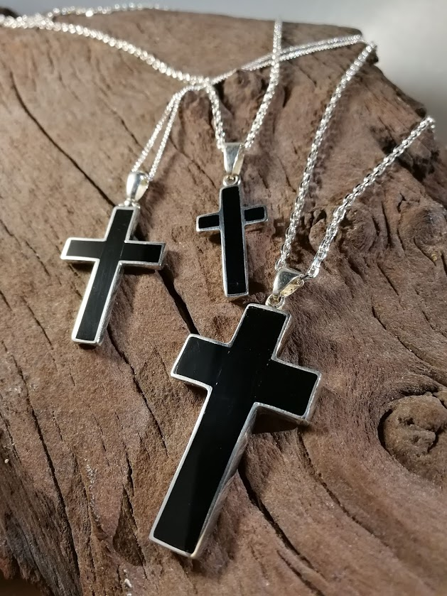 Whitby Jet Crosses