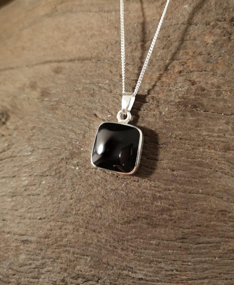 Medium square pendant