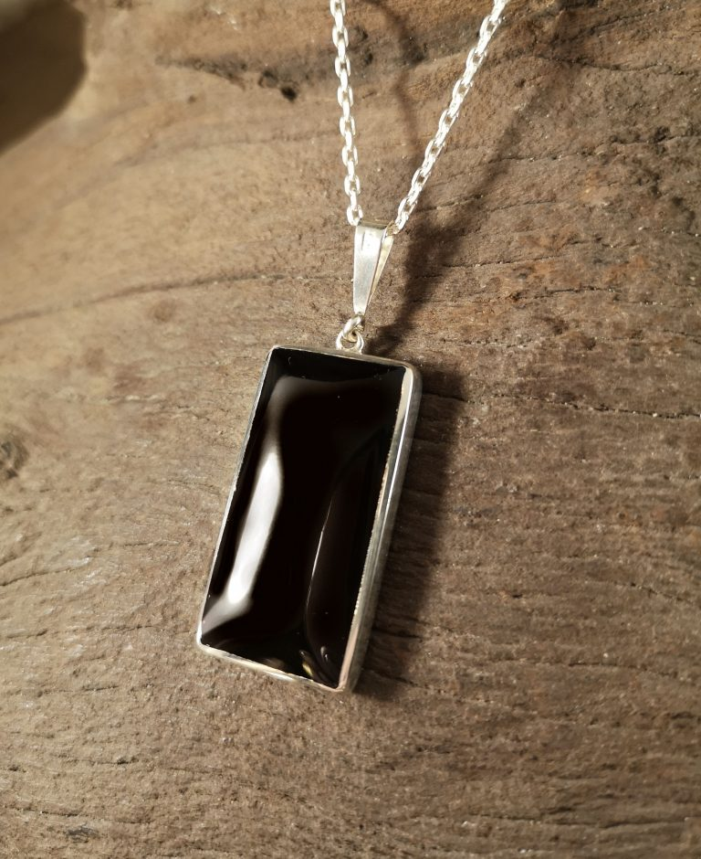Very large rectangle pendant