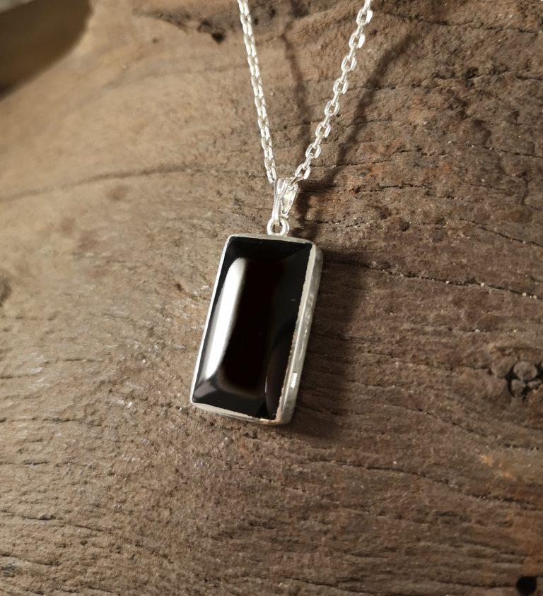 Large rectangular pendant