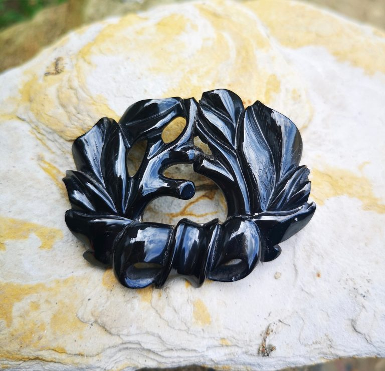 Antique Whitby Jet
