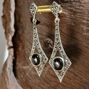 The Gatsby Marcasite Earrings
