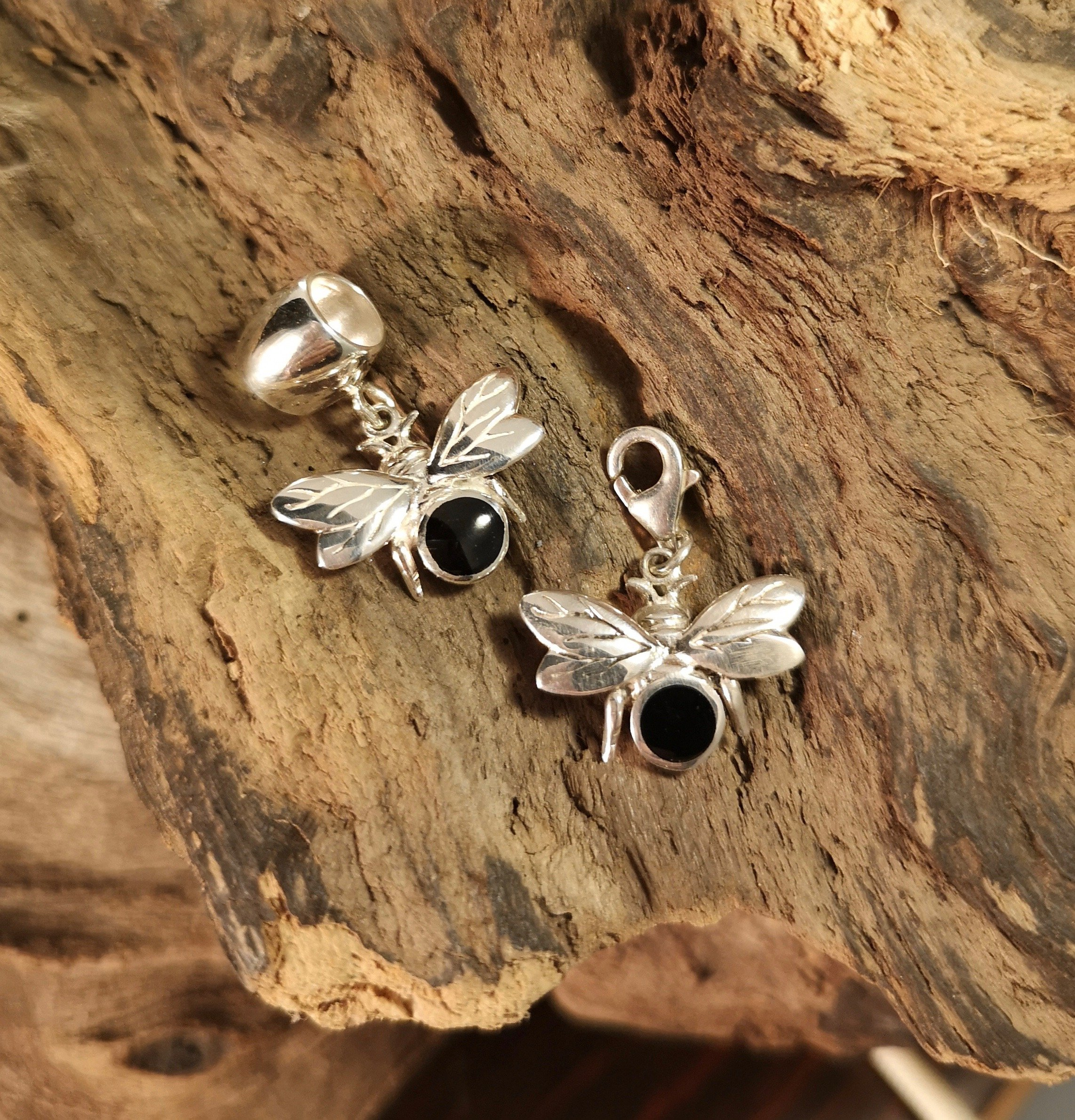 Whitby Jet Charms