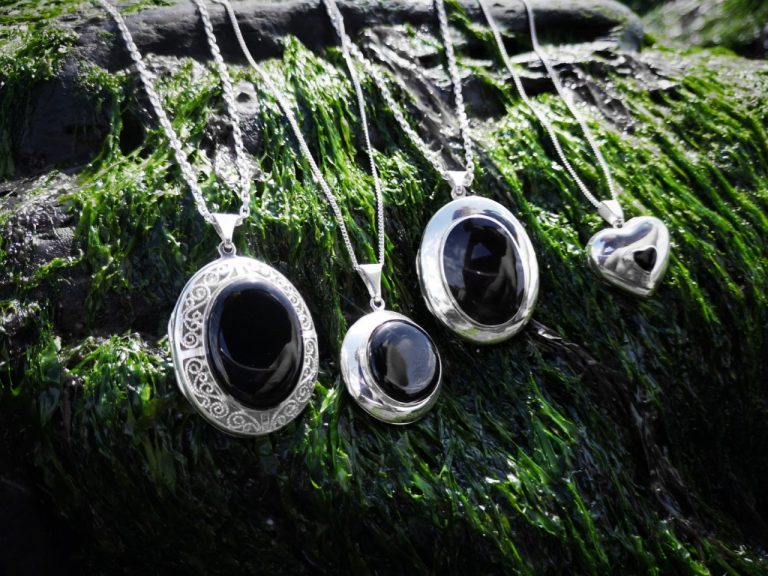 Whitby Jet Lockets