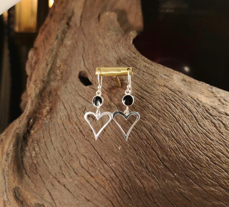 Open Hearted Earrings