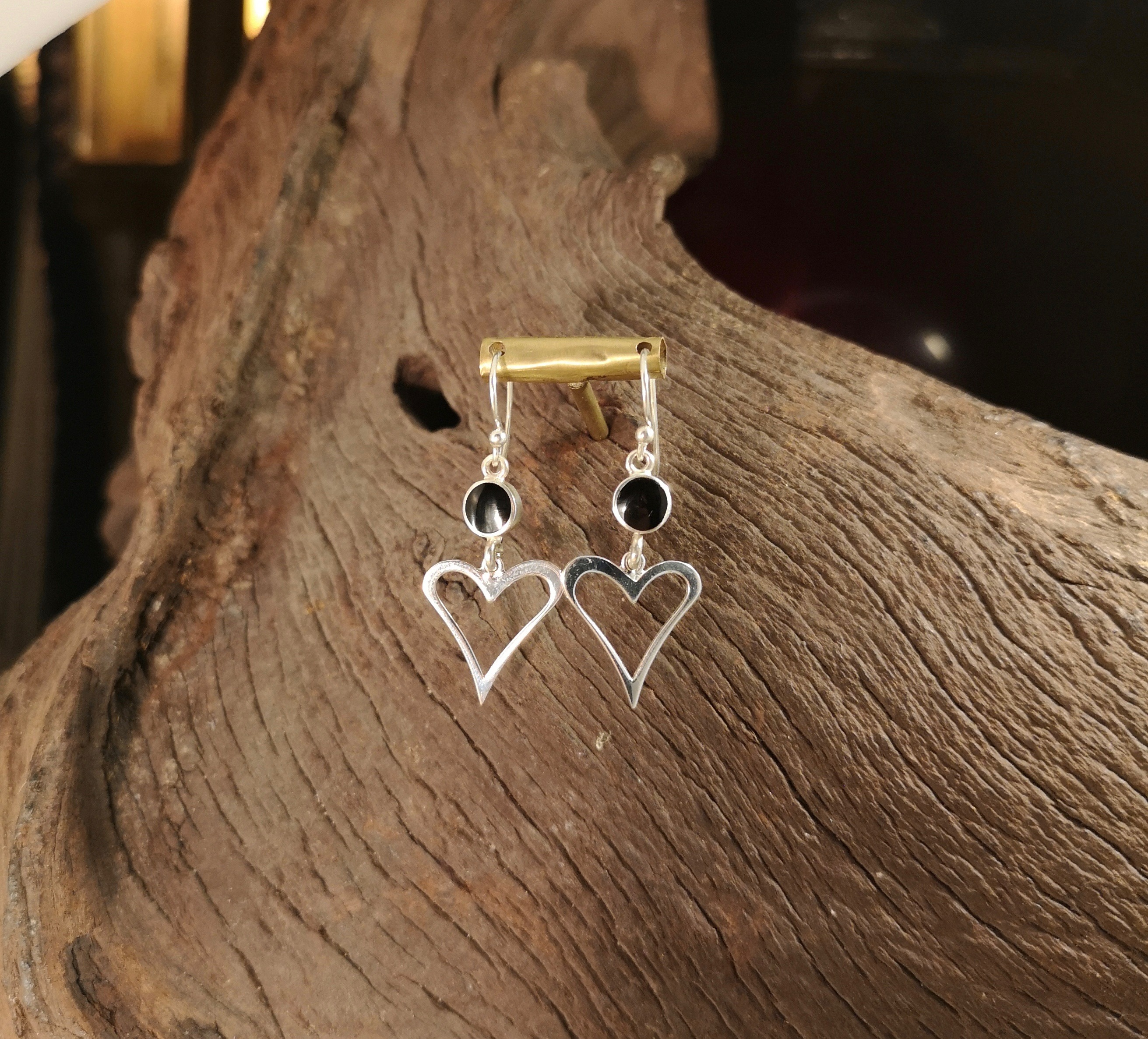 Open Hearted Earrings