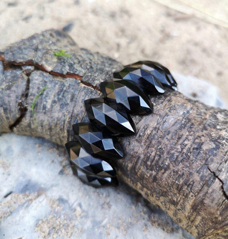 Antique Facetted Bracelet 'The Violet'