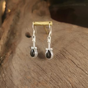 Whitby Jet earrings.