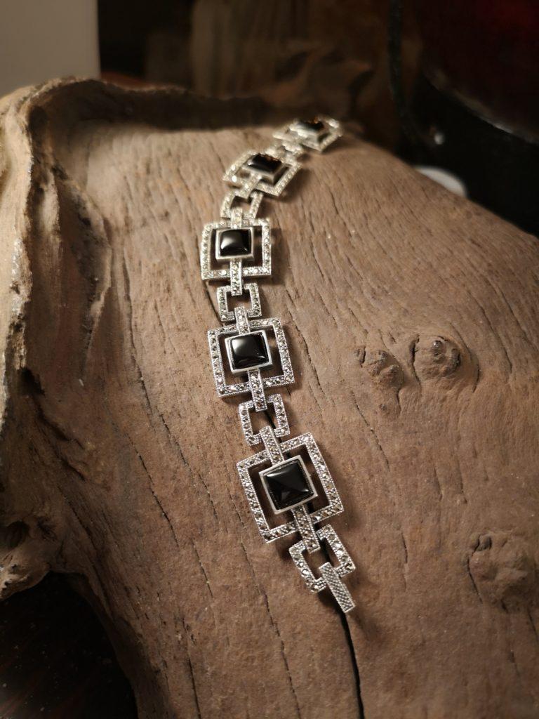 The Deco Marcasite Bracelet