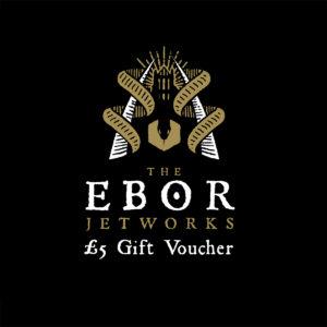 £5 Whitby Jet gift Voucher